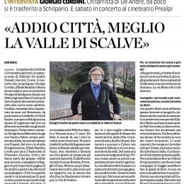 Un bell'articolo di Ugo Bacci sull'Eco di Bergamo