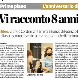 Sull'Eco di Bergamo un articolo sul nuovo libro di Giorgio Cordini